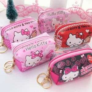 Hello Kitty Bag Small with Key Chain 5 Styles